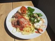 pasta meatballs
